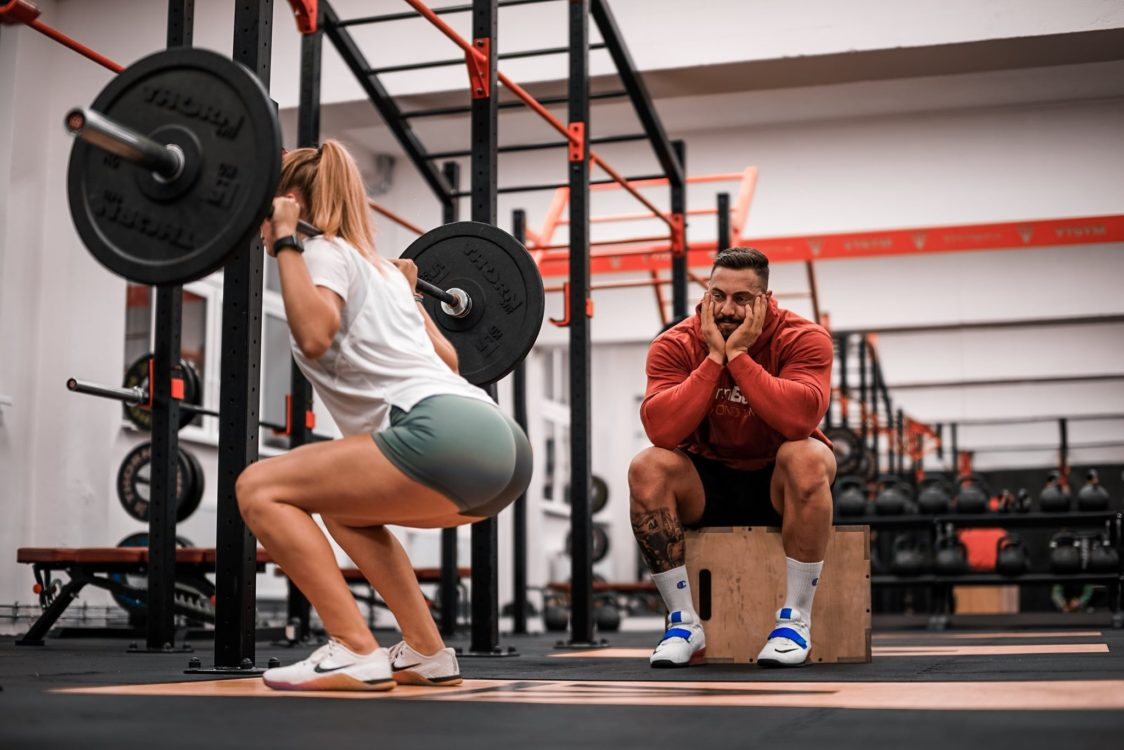 Correct squat technique