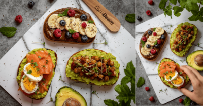 Fitness recipe: Avocado toast 3 Ways