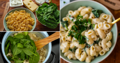 Fitness Rezept: Kremige Mac and cheese in Protein Version.