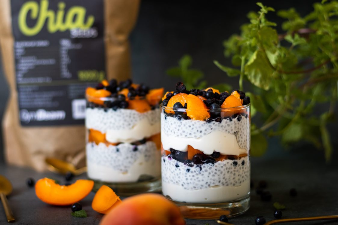 Fitness recipe: Curd chia pudding with fruit