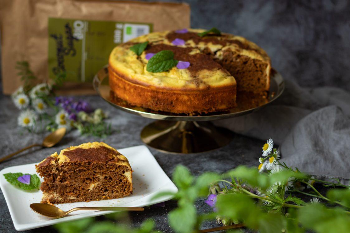 Fitness recept: Vláčný mrkvový koláč s tvarohovým krémem
