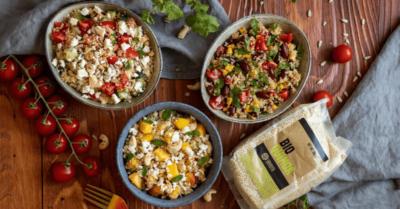 Fitness recipe: Quinoa salad in 3 different ways