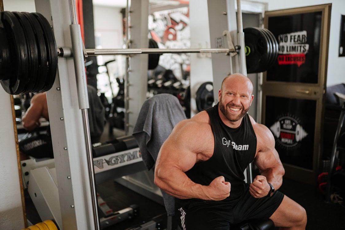 Le proteine supportano l'aumento della massa muscolare