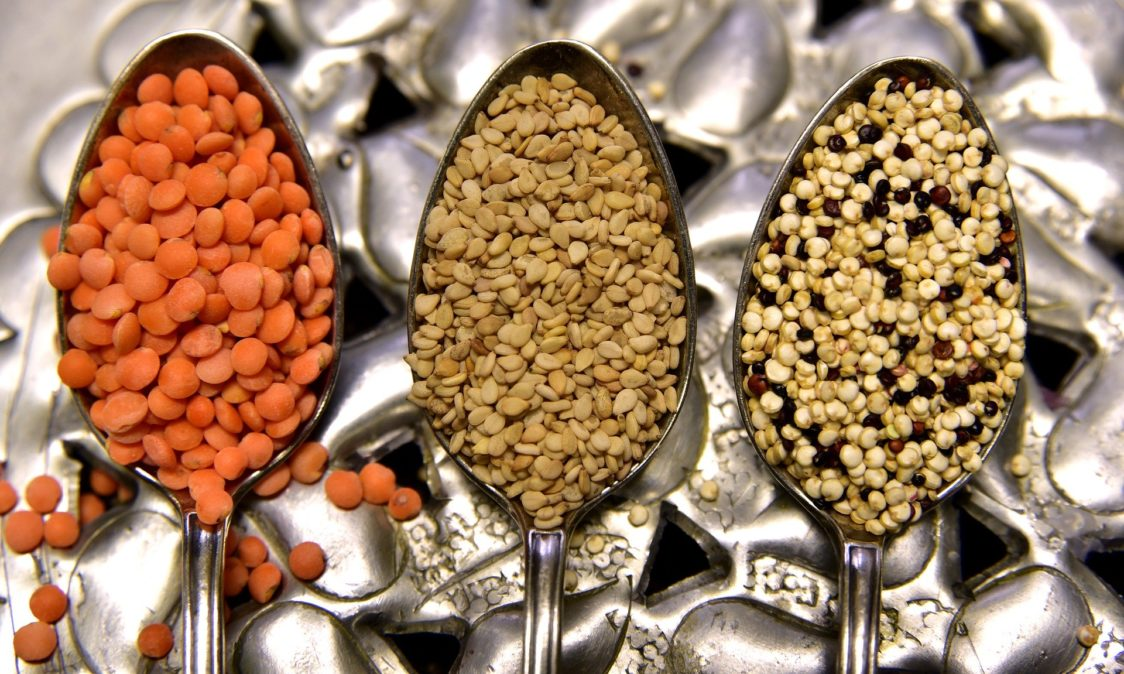 The best food sources of protein -  legumes