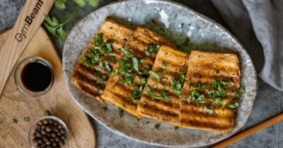 Fitness recept: ropogós tofu steak