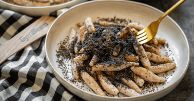 Fitness recipe: Poppy seed and nut rolls from curd dough