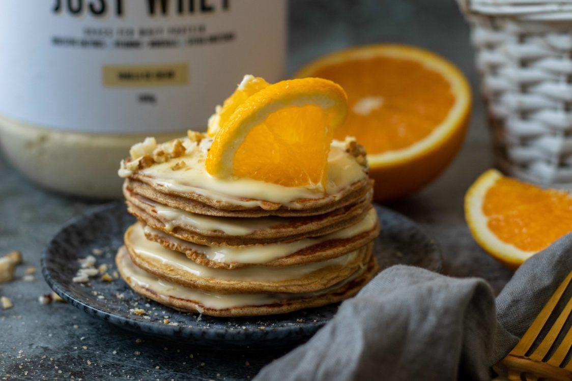 Fitnessrezept: Kefir-Pfannkuchen voller Protein