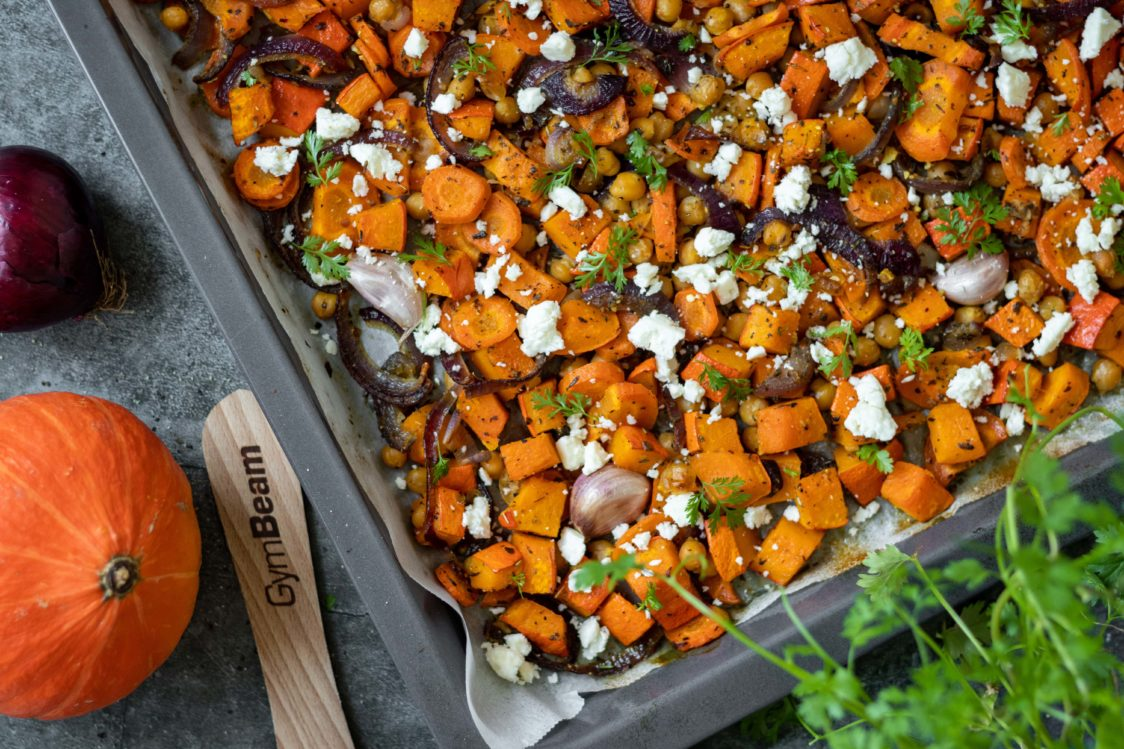 Fitness recept: Pečeno povrće s feta sirom