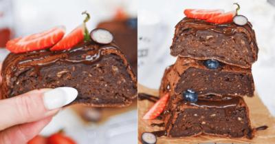 Fitness recept: Banánový brownie so slušnou dávkou bielkovín