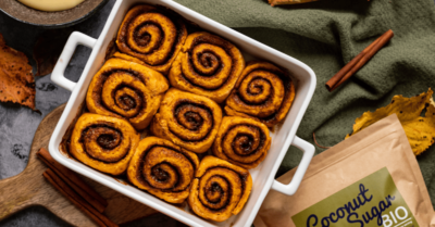 Fitness recipe: Pumpkin Cinnamon Rolls