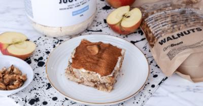 Фитнес рецепта: Пудинг с ябълков кекс