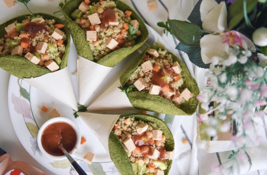 Fitness recept: Vegán tortilla quinoával és zöldségekkel