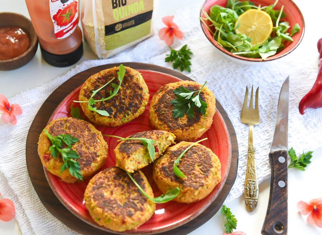 Fitness recept: Zeleninové placky s quinoou