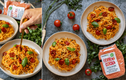 Web - Špagety Bolognese na vegánsky spôsob