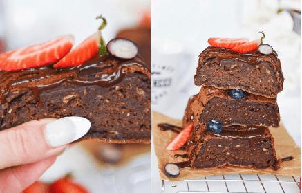 Web - Banánový brownie so slušnou dávkou bielkovín