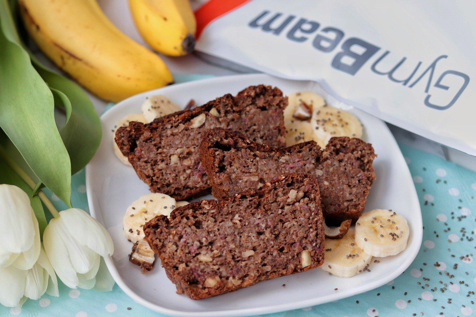 Fitness recept a vegán banánkenyérhez