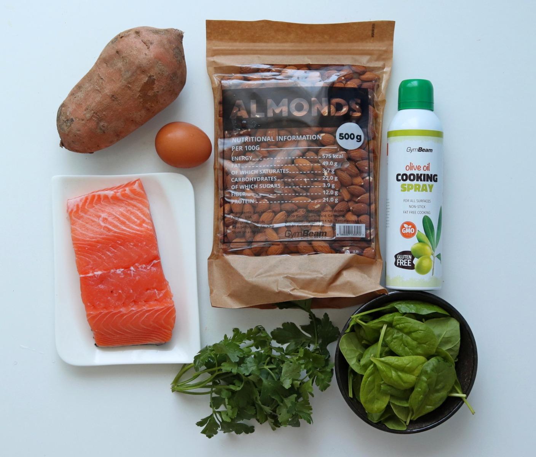 Fitness recept: batátové placky s lososem vhodné na oběd a večeři