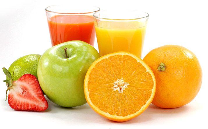 Za zajtrk pijete sadne sokove