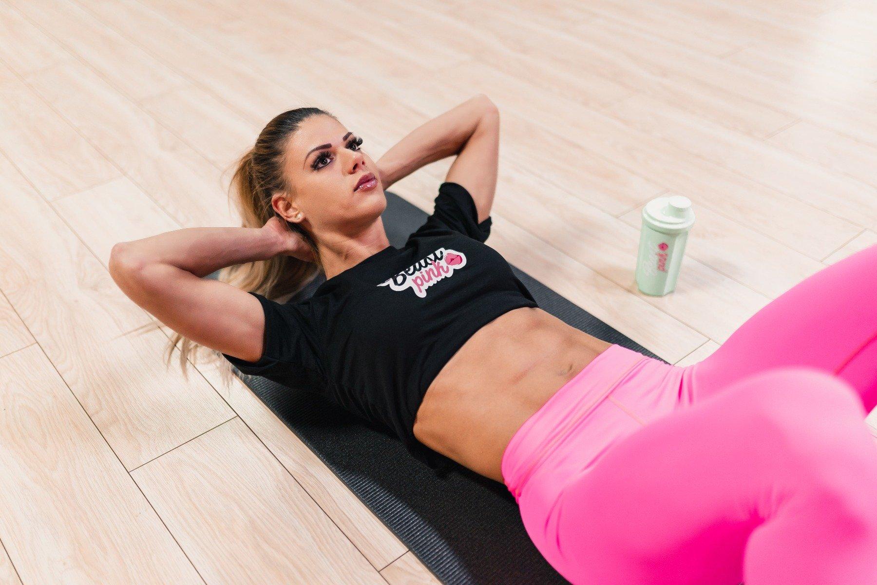 Exerciții pentru abdomen- abdomene