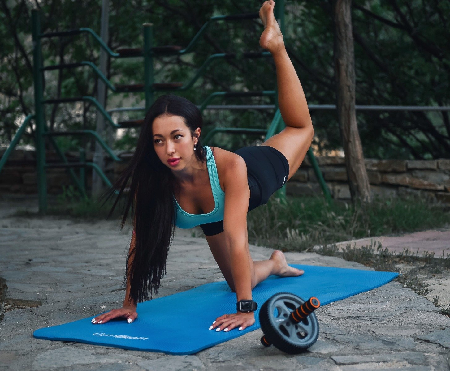 Tréningové pomôcky pre fitnessku
