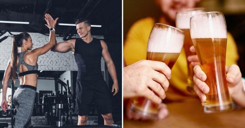 Как алкоголь влияет на похудение, регенерацию и рост мышц?