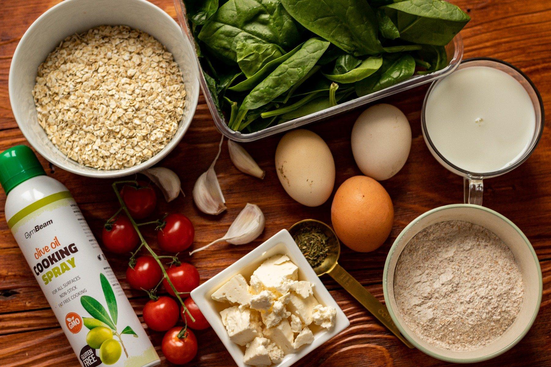 Fitness recept: Quiche od špinata - slana francuska pita - instrukcije