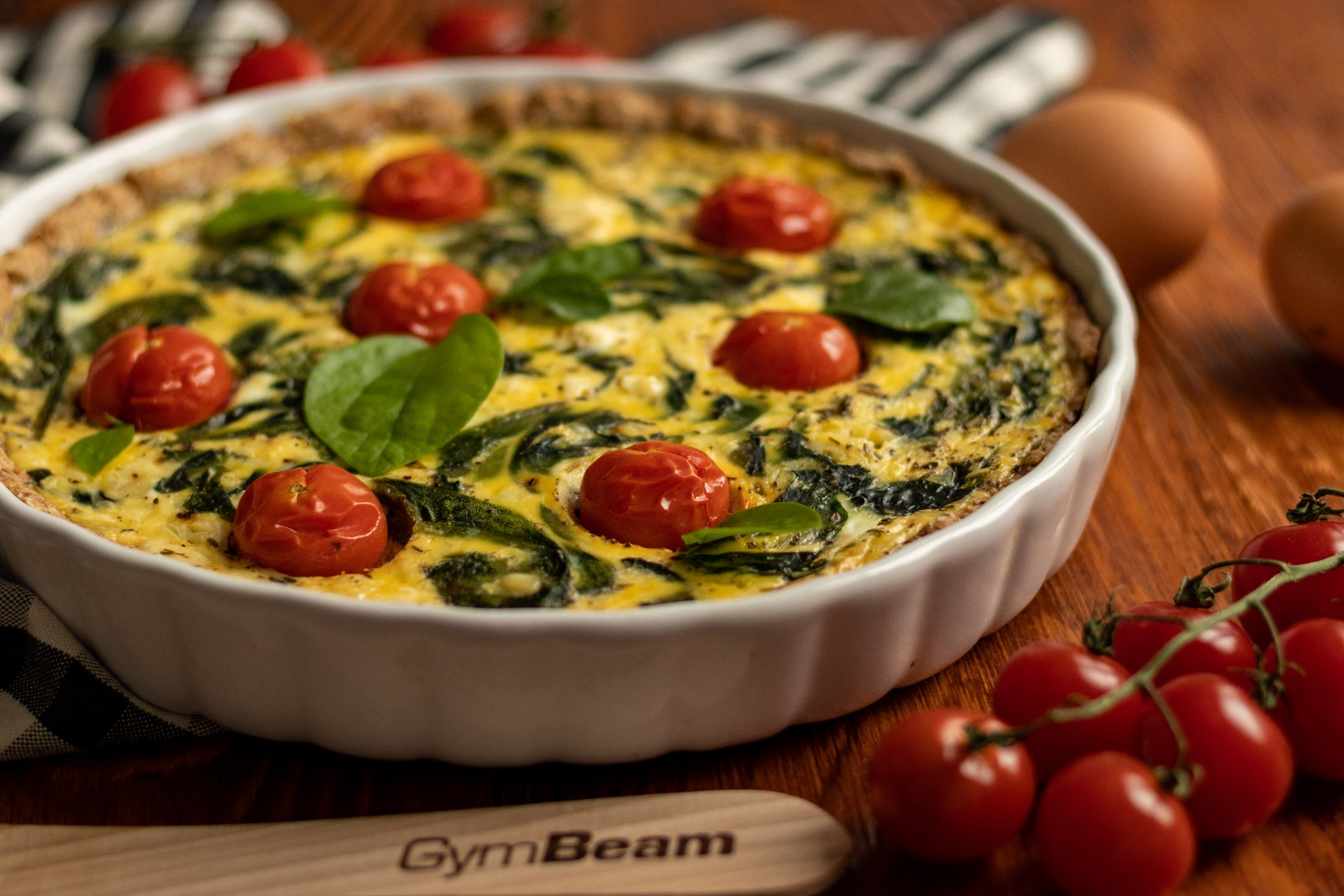 Fitness recept: Quiche od špinata - slana francuska pita