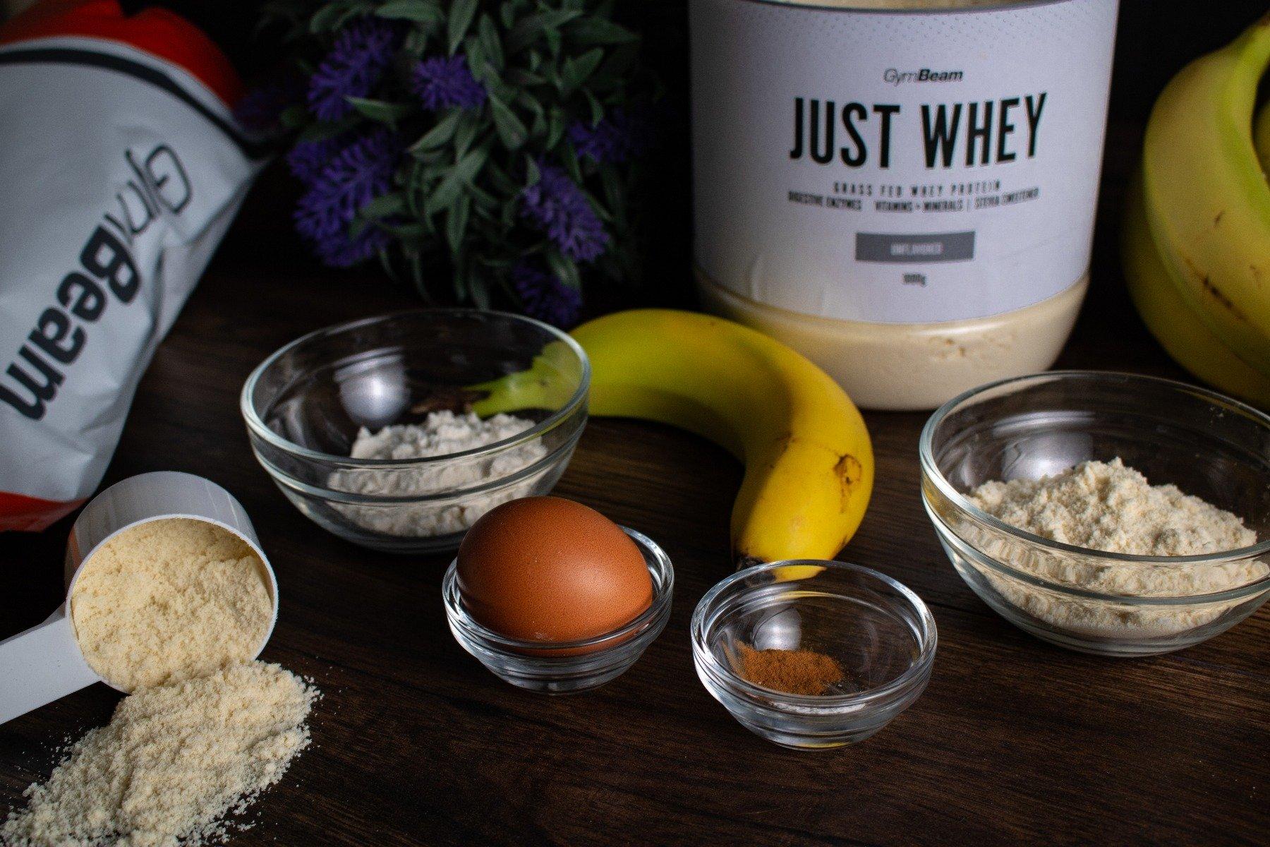 Ingrediente pentru prepararea vafelor proteice