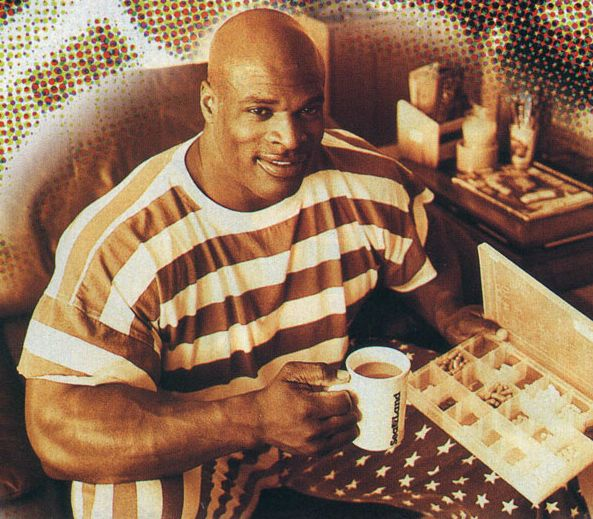 Ronnie Coleman and his training plan, diet and interview