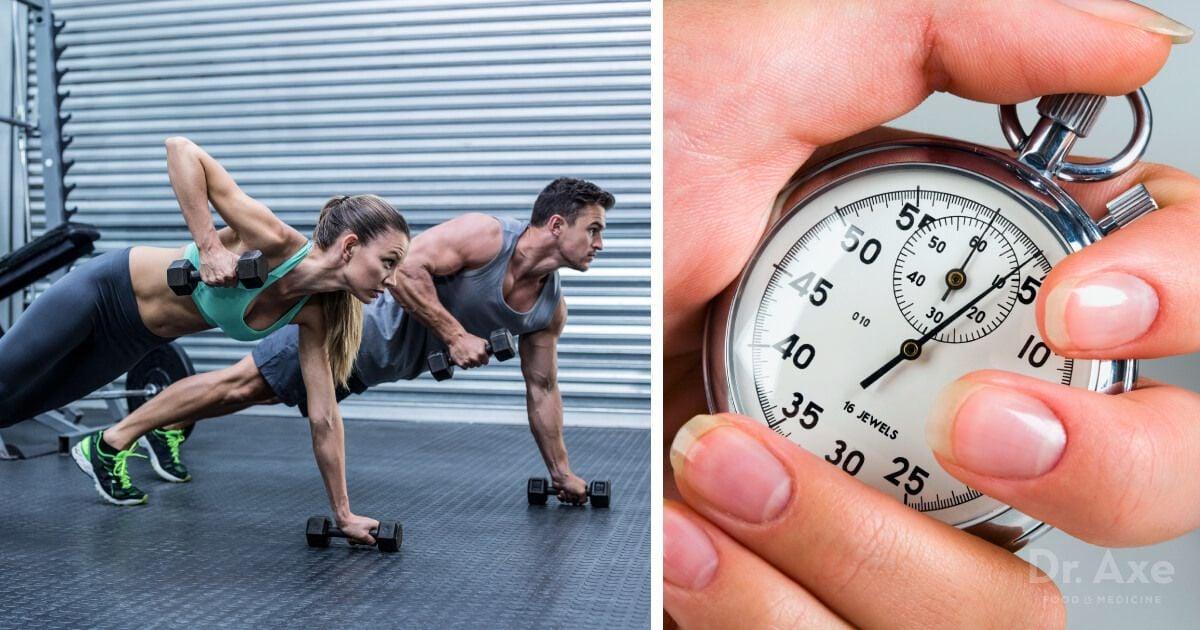 Antrenamente rapide pentru a maximiza pierderea de grăsime! (Metoda Tabata)