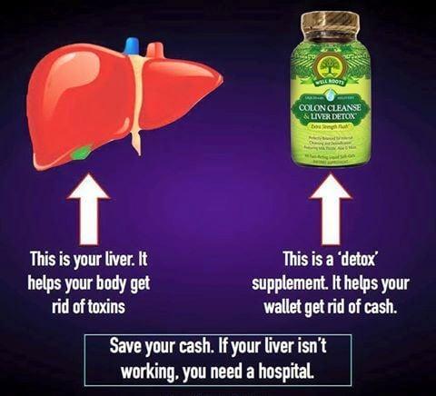 Detoxifierea - tot de ce aveți nevoie este ficatul