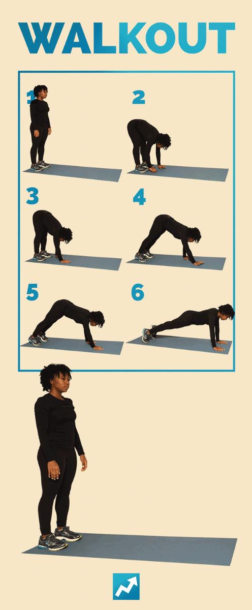 Walkout - 12 упражнений с собственным весом