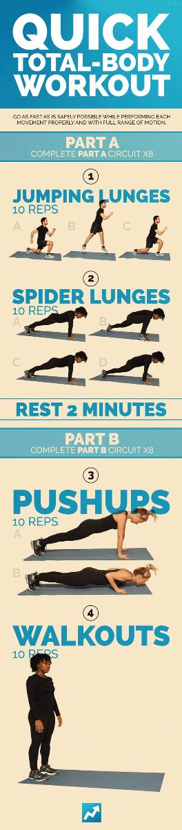 Тренировочный план с собственным весом для укрепления всего тела