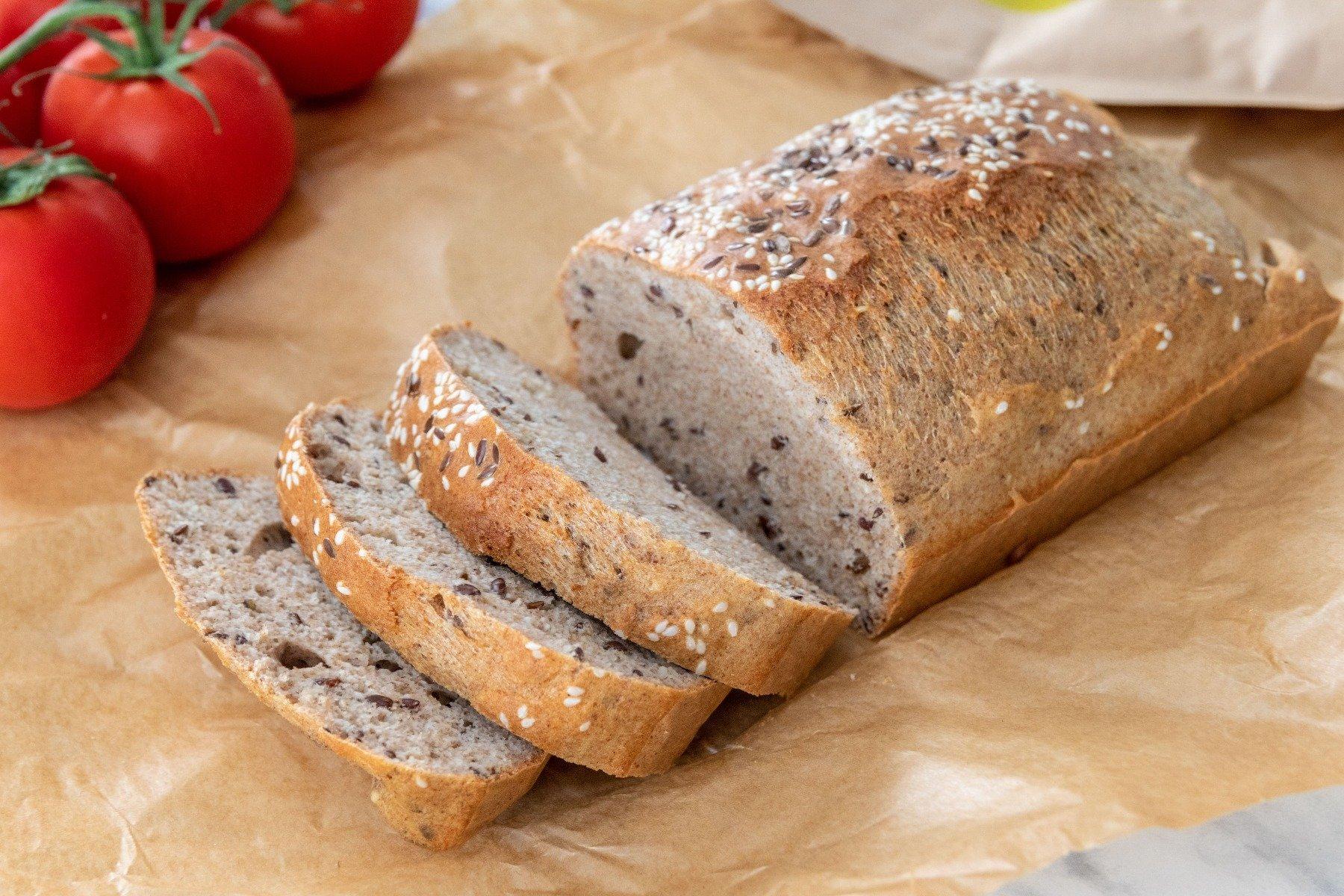 Rețetă fitness: Pâine crocanqtă plină de fibre și proteine