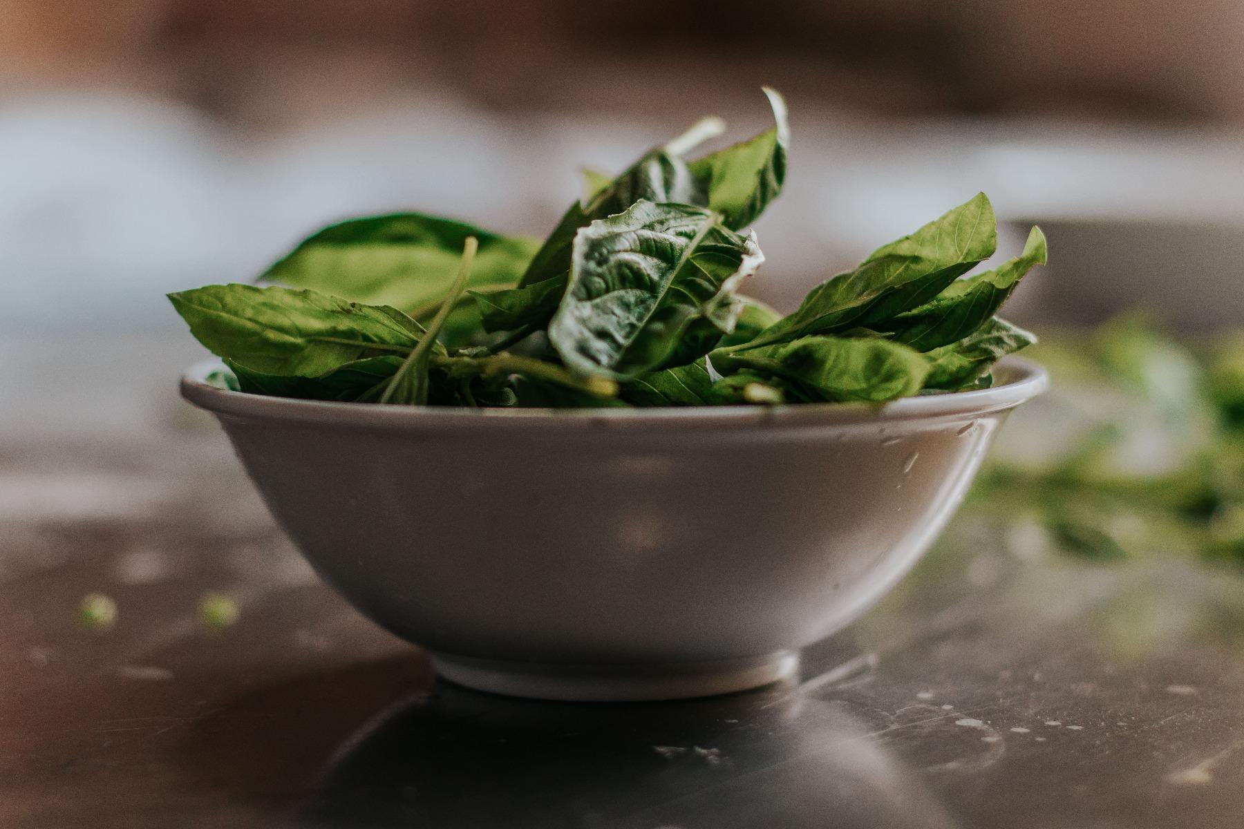 Spanacul își pierde din nutrienți