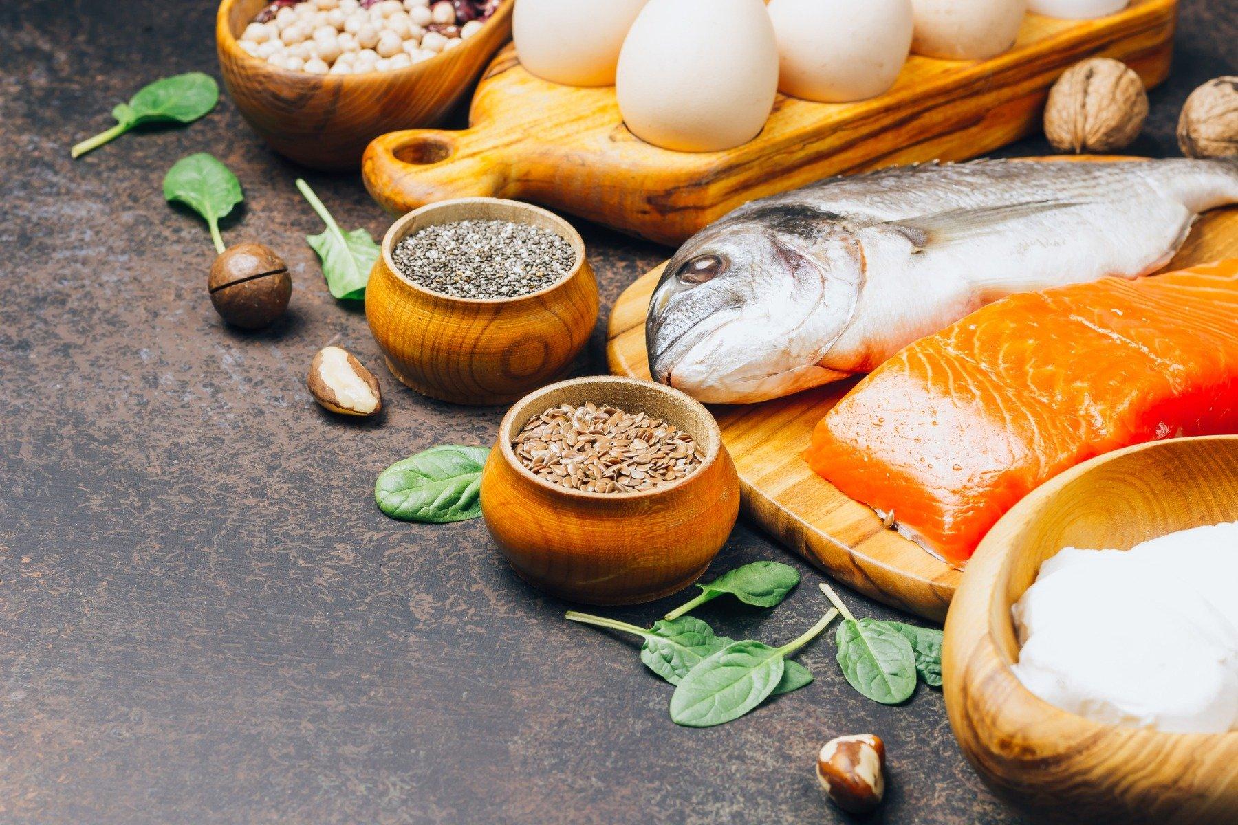 Готвенето, печенето и съдържанието на протеини