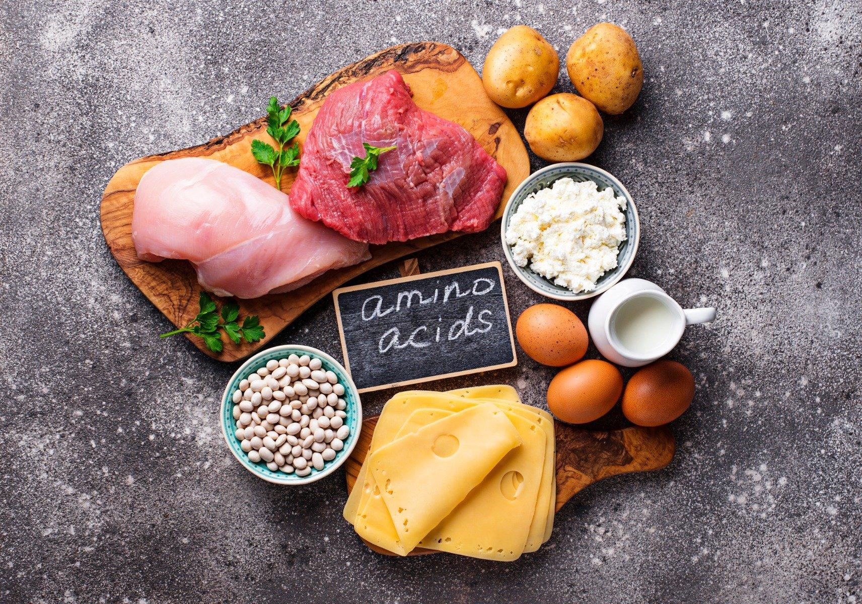 Източници на есенциални аминокиселини