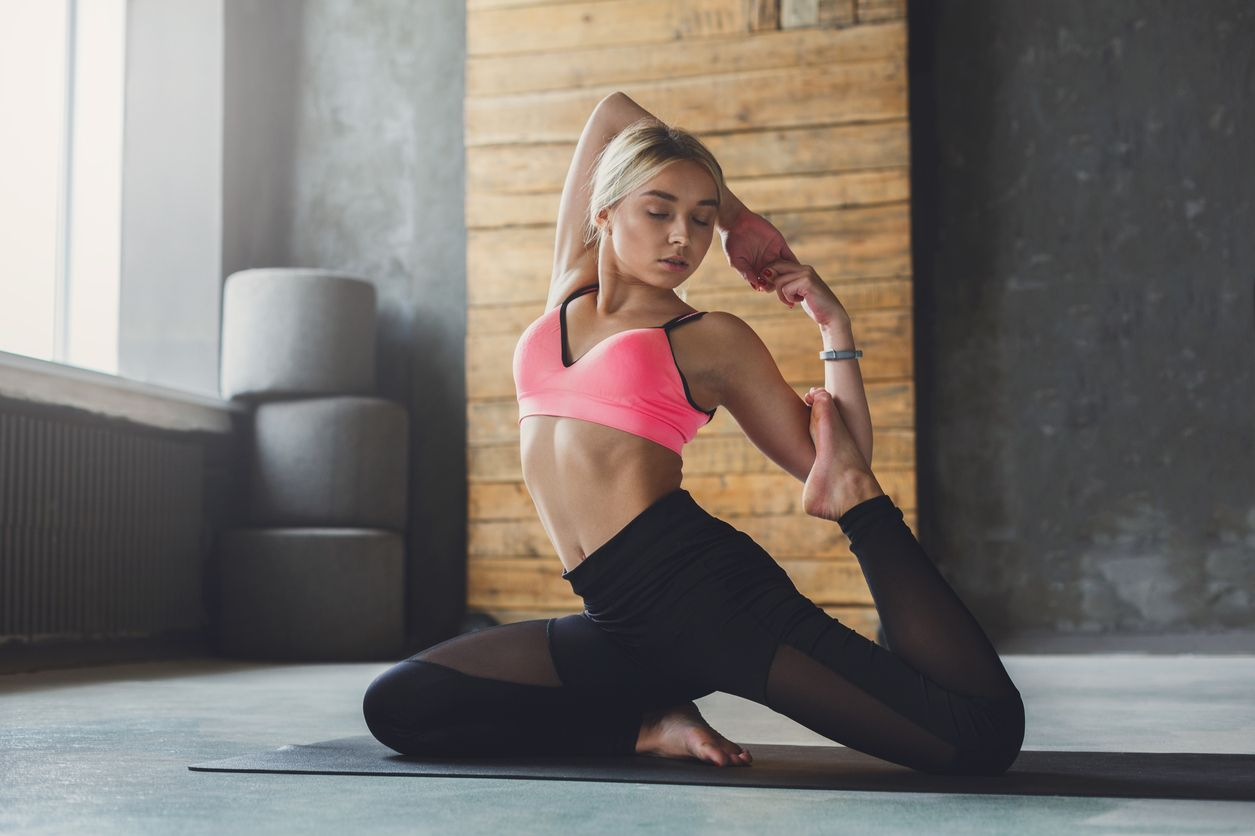 plank - you'll be more flexible than any before