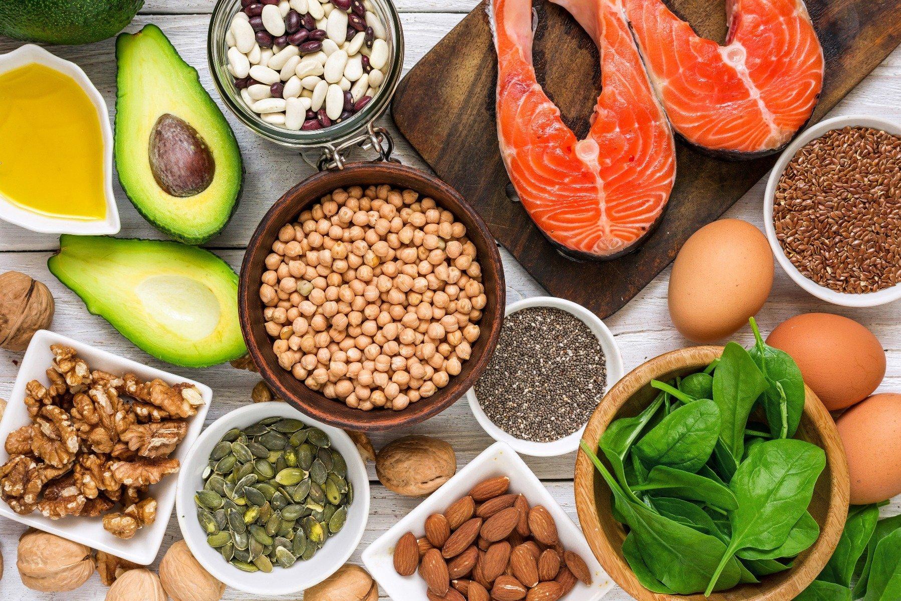 Surse de acizi grași omega în alimente