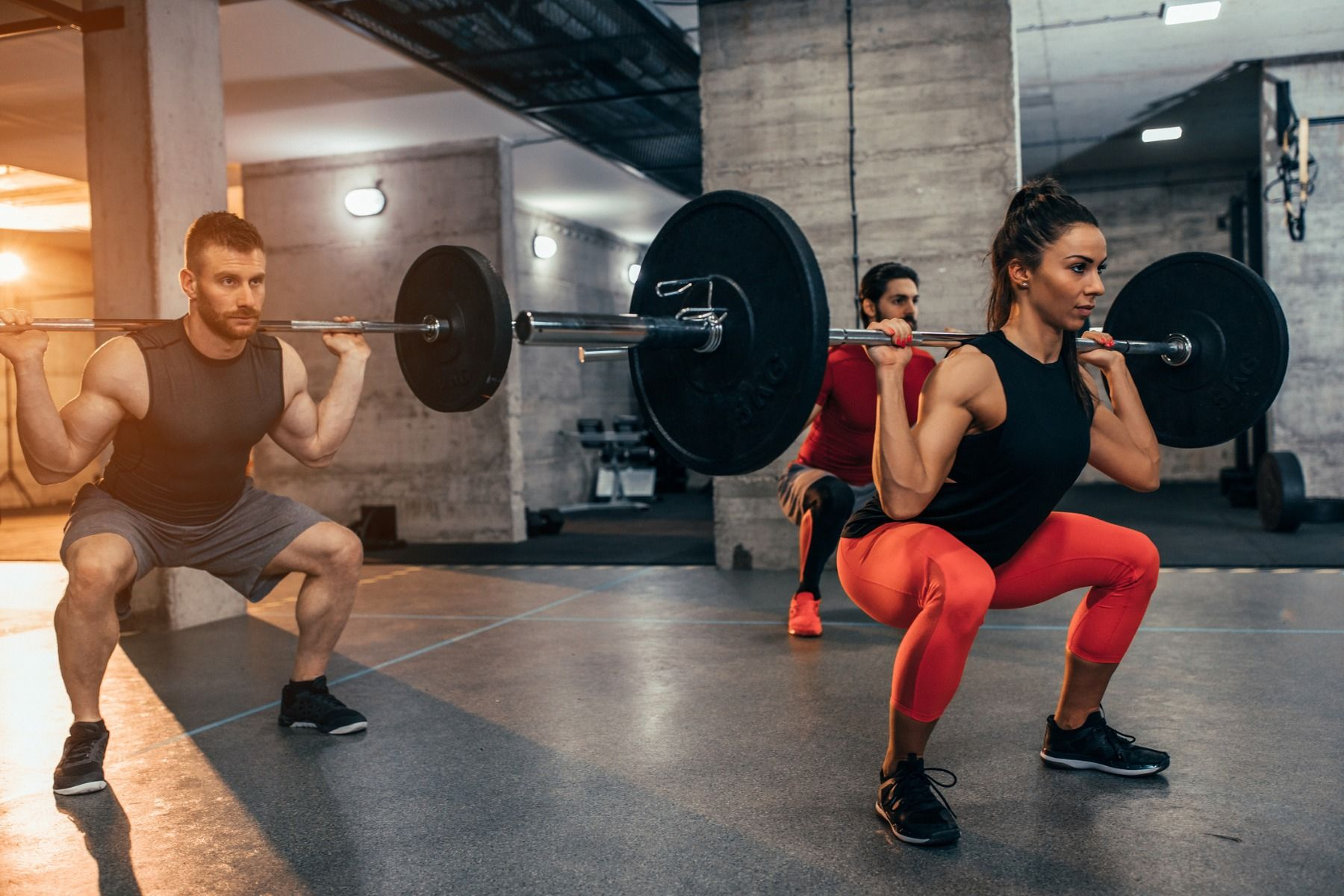Why do you need strong hip muscles?