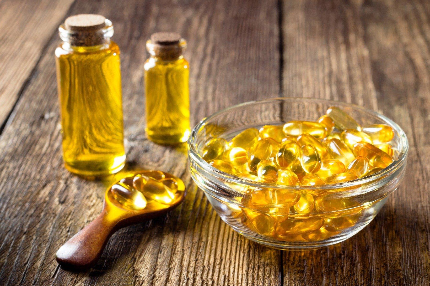 Capsule și ulei de pește - forme de acizi grași omega