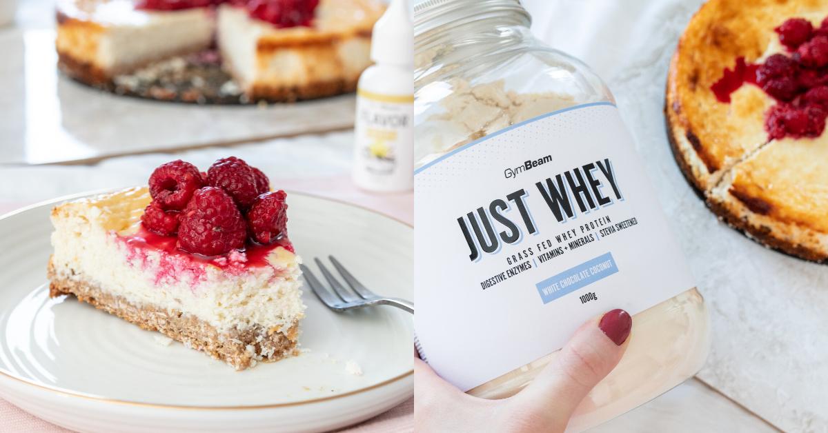 Fitness recept: kókuszos cheesecake, magas fehérjetartalommal
