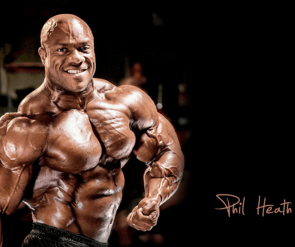 Phil Heath training plan and diet