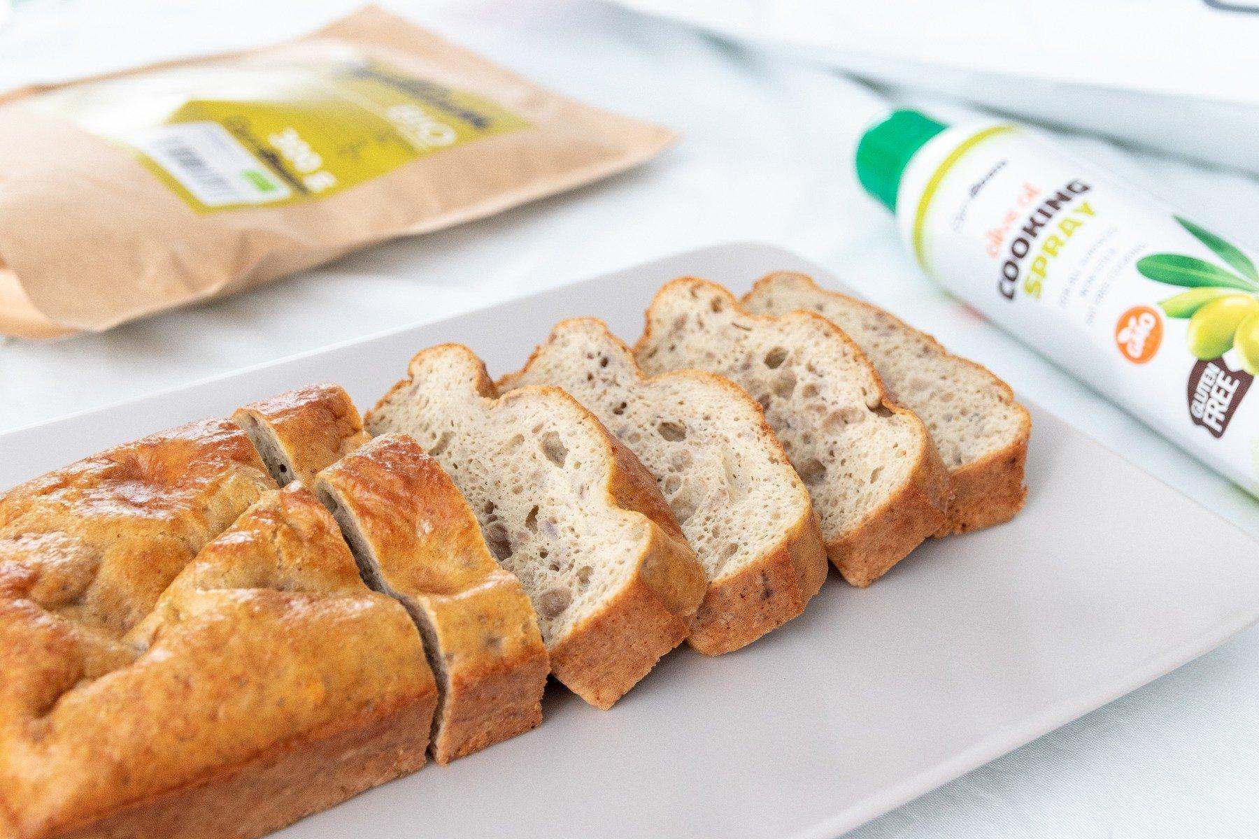 Domácí proteinový chléb bez mouky