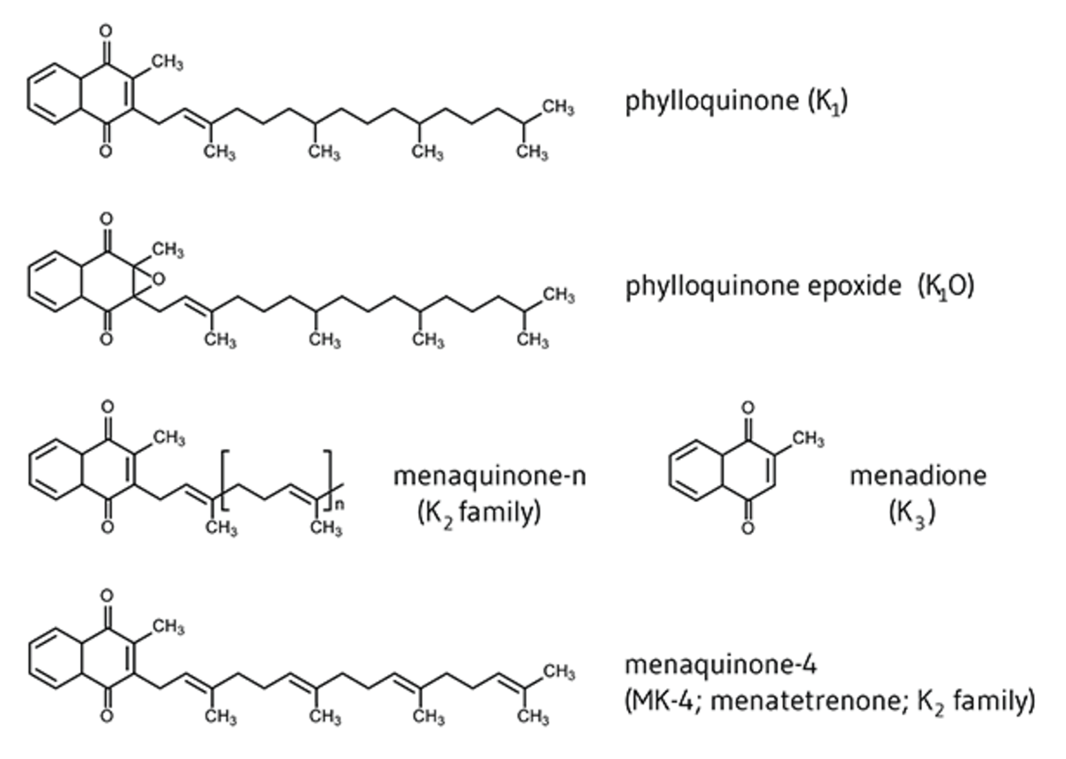 vitamín K, jeho benefity, využitie, účinky