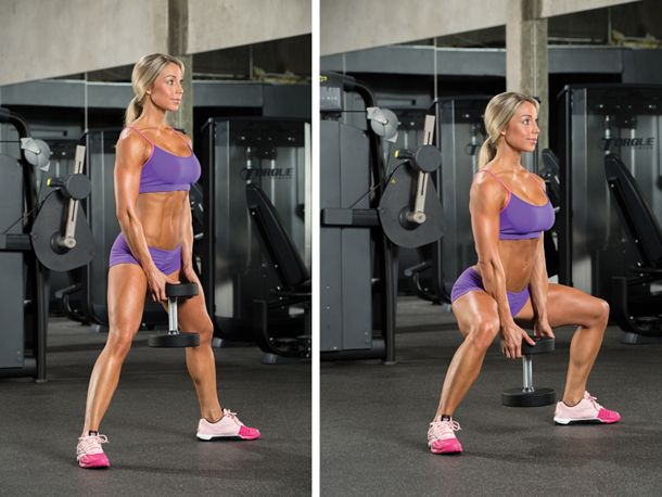Best-Ever Butt and Legs Workout by Nicole Wilkins