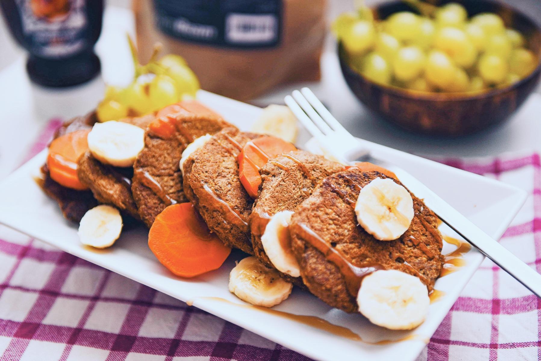 Fitness recept: Palačinke od mrkve s chia sjemenkama bez brašna