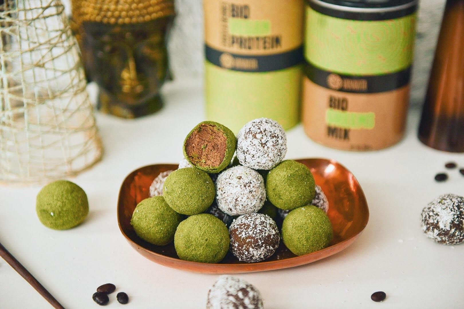 Fitnes recept: Veganske beljakovinske kroglice iz superživil