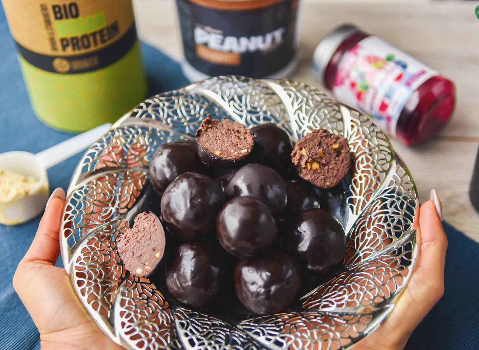 Fitness recept: vegán truffles mogyoróvajjal
