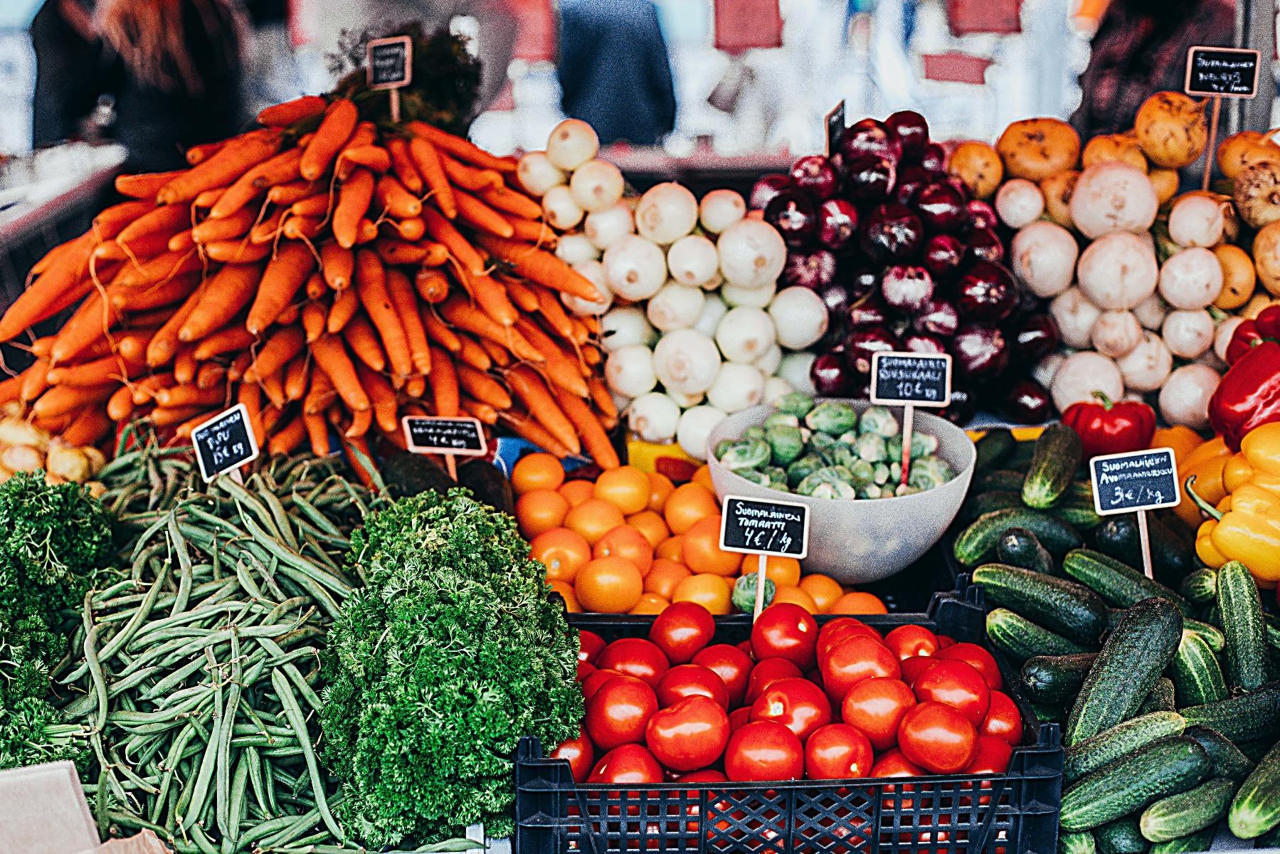 Nutrienți din fructele și legumele proaspete